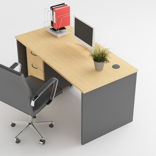 Single Office Desk