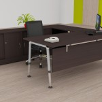 L shape executive desk