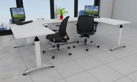 Executive desk double