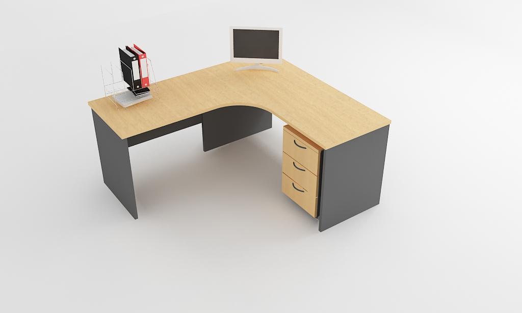 l shape executive desk