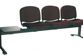 Three Seat Beam Bench